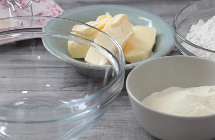 Bahan-Bahan Membuat Biskut Arab Susu