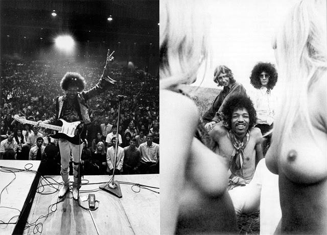 Jimi Hendrix Naked 34