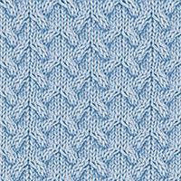 Twist Cable 31: Arched Cable | Knitting Stitch Patterns.