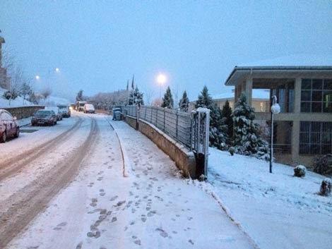 Korucuk sağlık ocağı kış fotoğrafı manzarası