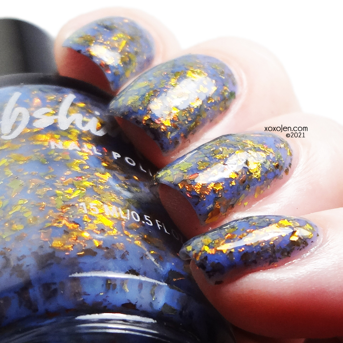 xoxoJen's swatch of KBShimmer Rise Up