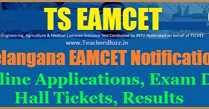 TS EAMCET 2017 Notification, Schedule, Online Applications @ tseamcet.in