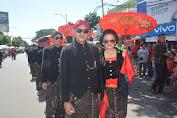 Menguri-Uri Budaya Lokal, Danrem 071/Wijayakusuma Kenakan Pakaian Adat Banyumasan