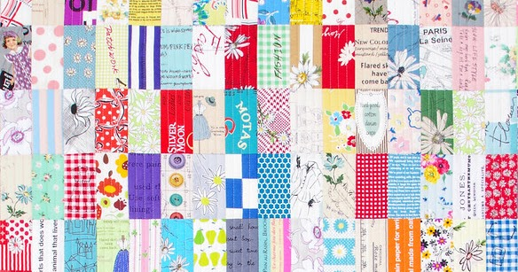 A Japanese Stash Buster Quilt