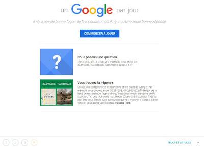 Un Google par jour - Traduction