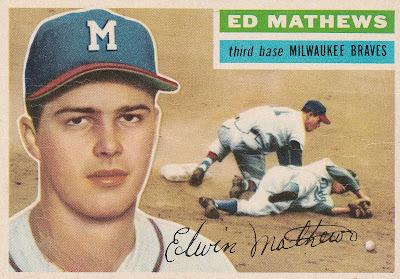 The 1956 Topps Milwaukee Team Set