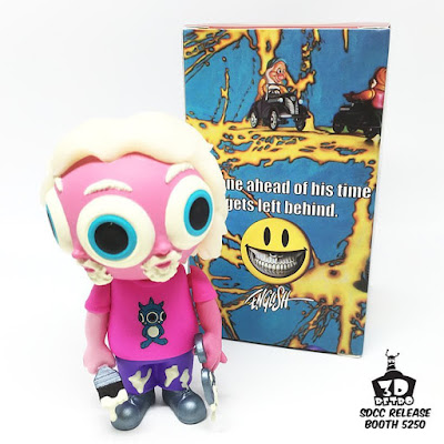 San Diego Comic-Con 2016 Exclusive Artist Gnome GID Vinyl Figure by Ron English x 3DRetro