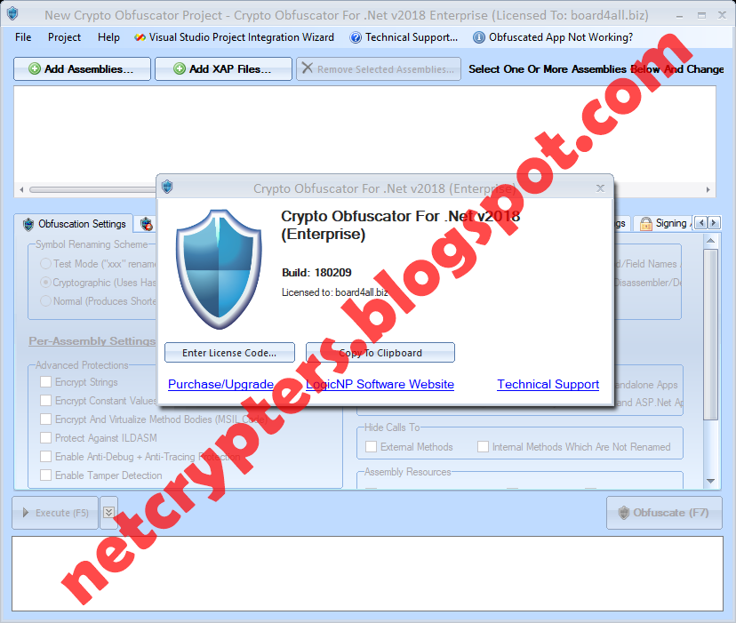 Crypto Obfuscator Enterpise For  NET 2018 [ CRACKED ] Download