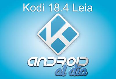 """Kodi v18.4 """"Leia"""""""