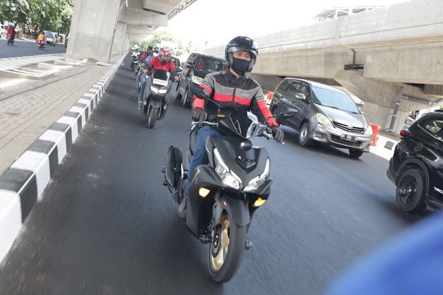 Resmi Berakhir, Maxi Yamaha Virtual Touring 2021 Tuai Kesuksesan