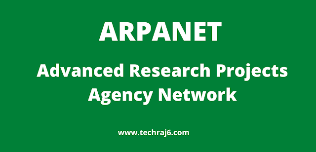 ARPANET full form, What is the full form of ARPANET