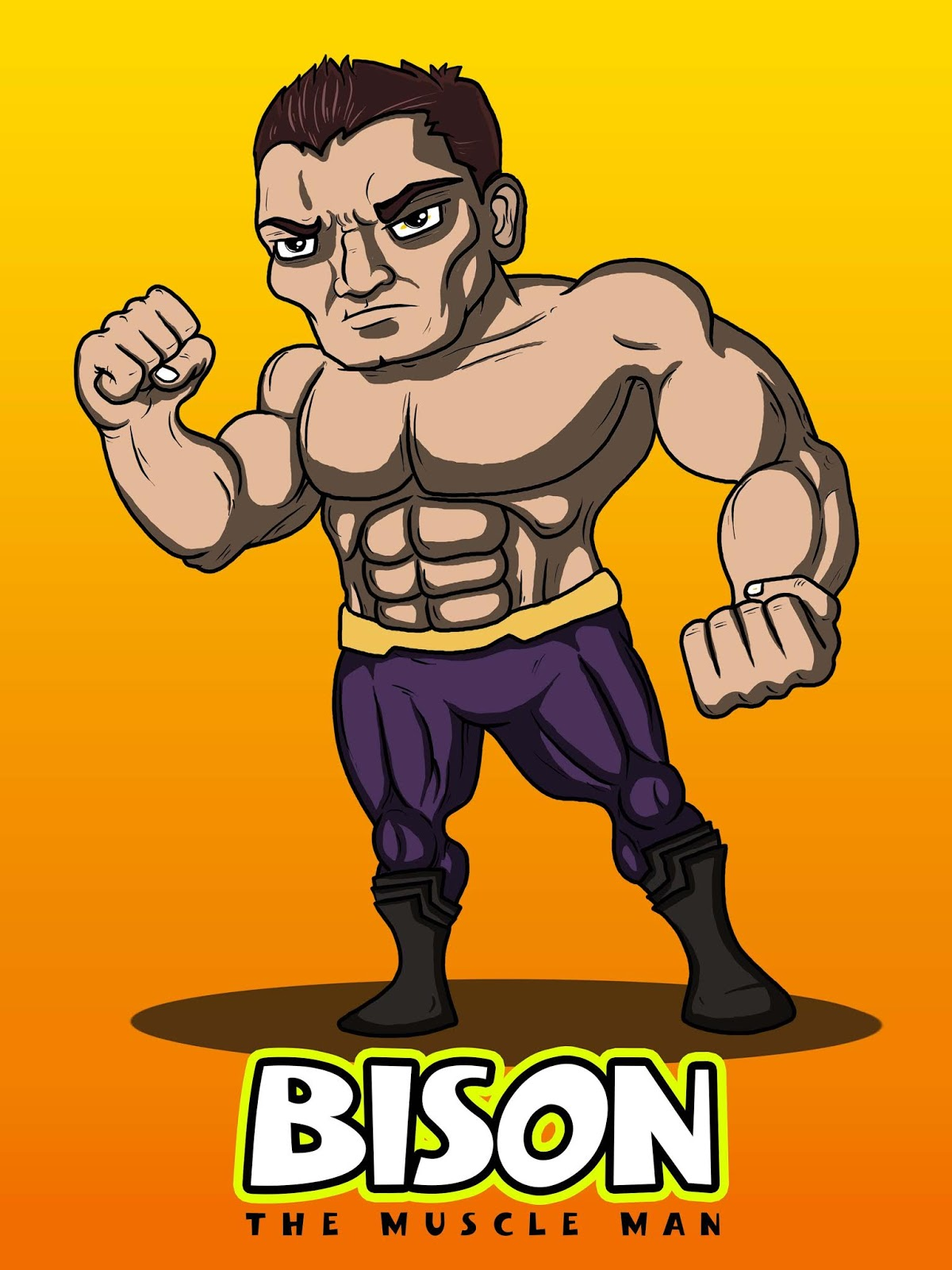 The Bison - Muscle Man