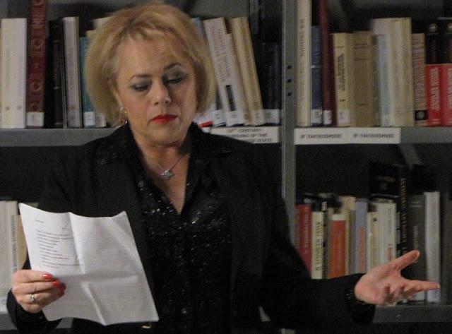 Χρυσό βραβείο ποίησης στη Γκέλη Ντηλιά της Ένωσης Συγγραφέων & Λογοτεχνών Αργολίδας