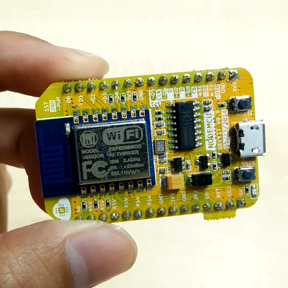 NodeMCU V1 ESP8266 WiFi IOT Arduino IDE Compatible Overview