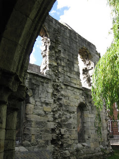 Ruins of St. Leonard's Hospital, York, England