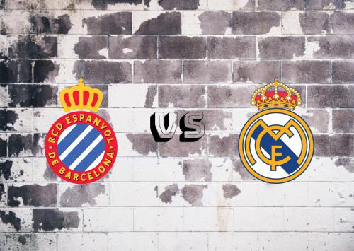 Espanyol vs Real Madrid  Resumen y Partido Completo