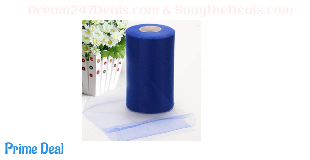 40% OFF Tulle Rolls 6 Inch x 200 Yards