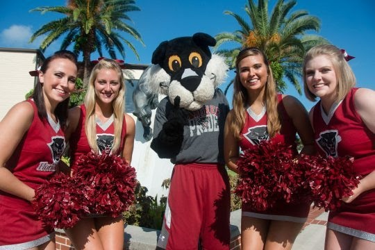 Florida Institute of Technology Cheerleaders
