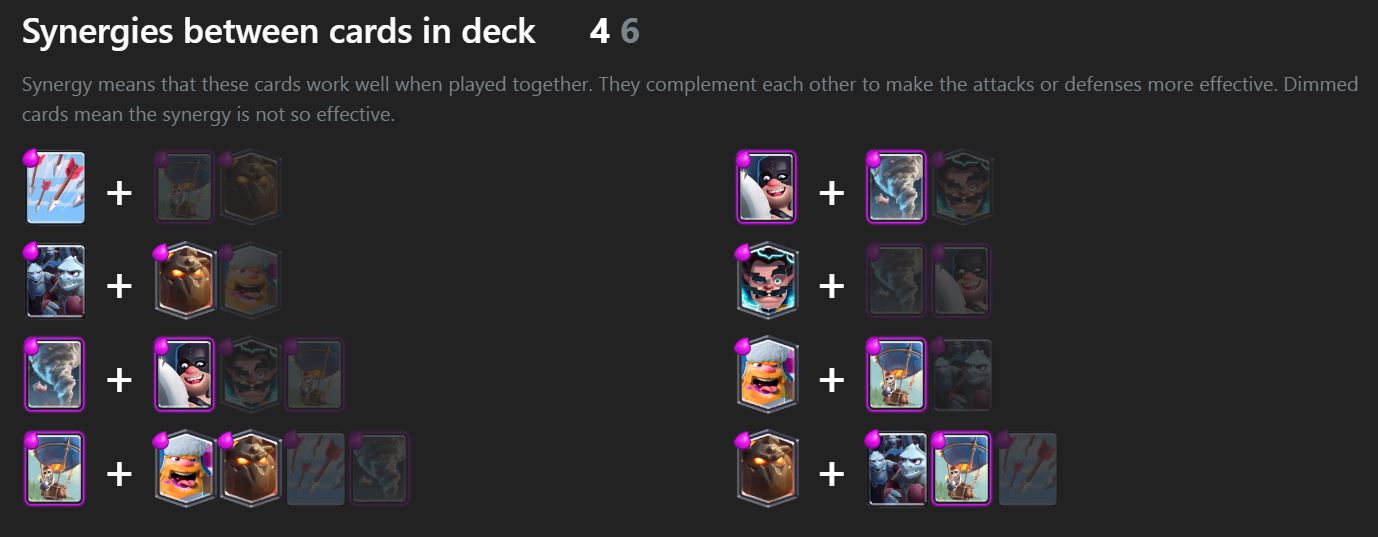 clash royale deck combo,