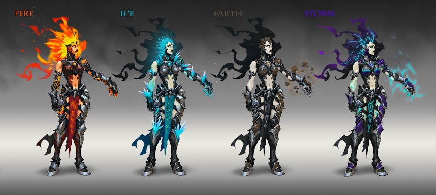 darksiders 3 concept art horseman of apocalypse fury