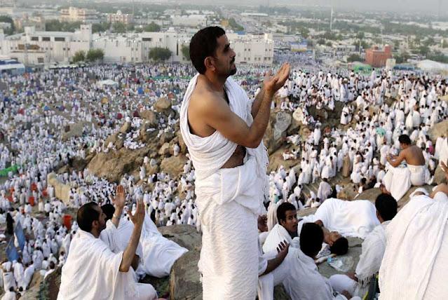 Ini Doa Rasulullah di Arafah yang Membuat Setan Menyesal
