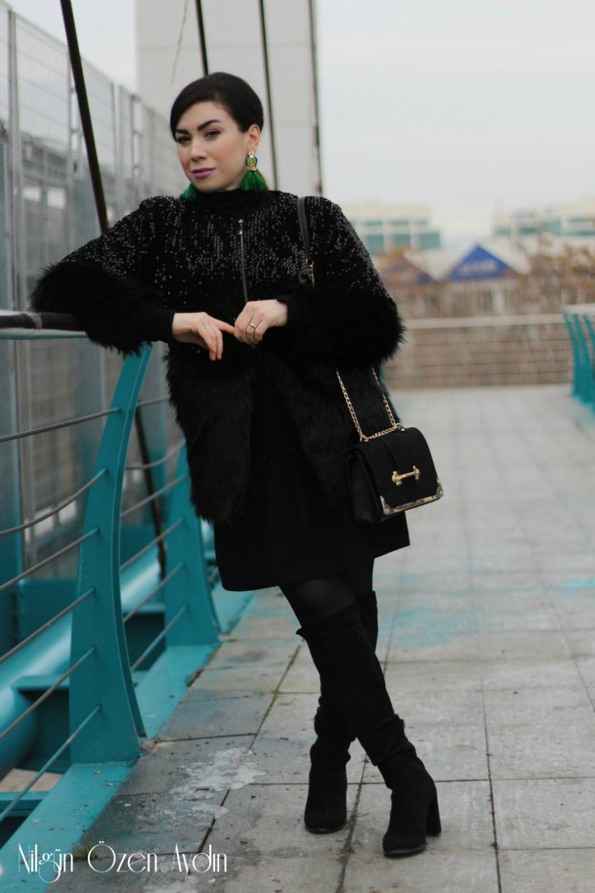 alışveriş-butik-payetli kürk ceket-moda blogu-fashion blogger