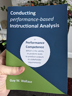 Foreword to Conducting performance-based Instructional Analysis by Guy Wallace