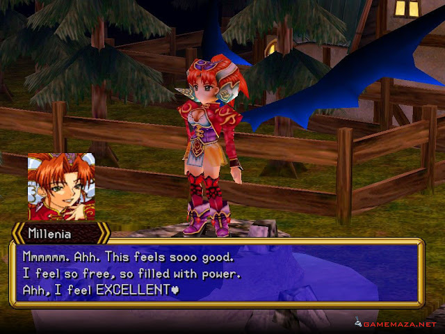 Grandia II Anniversary Edition Gameplay Screenshot 1