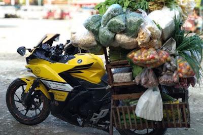 Penjual sayur keliling modal 5 juta