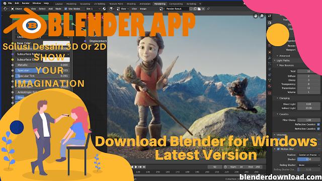 Download Blender for Windows Latest Version