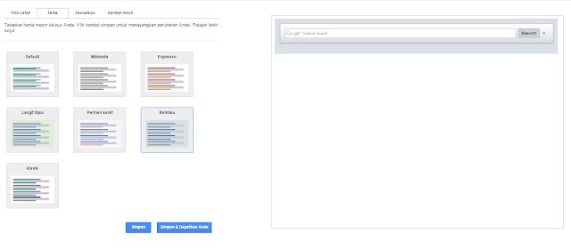 Cara Membuat Google Search Box Di Blog