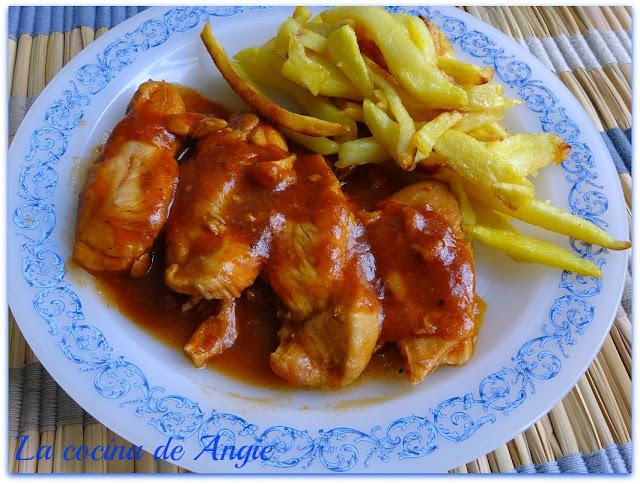 Pechugas De Pollo A La Barbacoa (olla Gm)