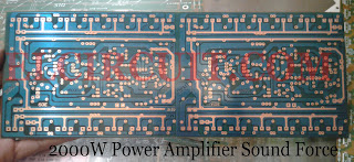2000W power amplifier circuit pcb