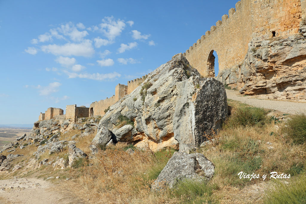 Subida al Castillo de Gormaz, Soria