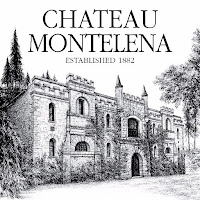 The logo to Château Montelena in Calistoga, Napa, California