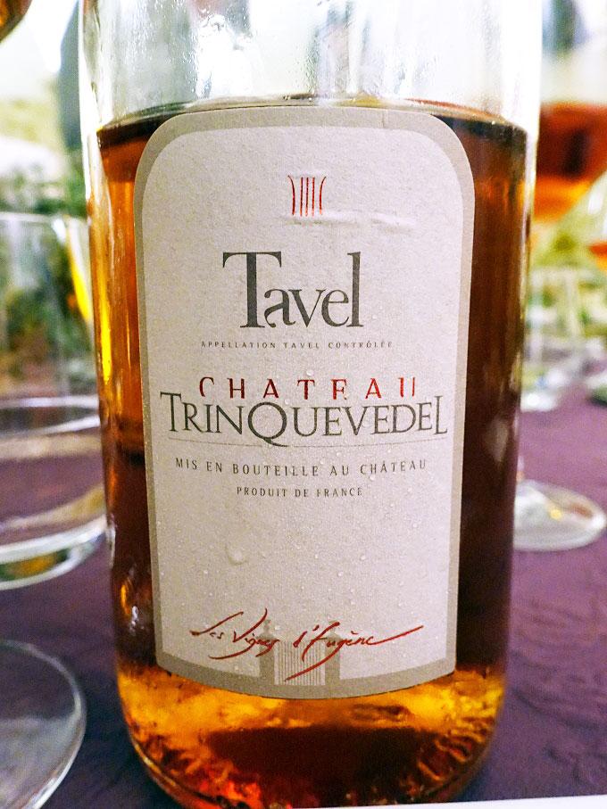 Château Trinquevedel Les Vignes d'Eugène Tavel 2014 (89+ pts)