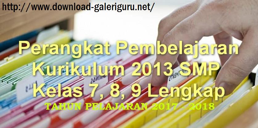 Contoh Perangkat Pembelajaran Kurikulum 2013 Download Galeri Guru