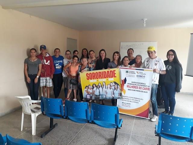 Secretaria de Assistência Social de Amparo recebeu as Coordenadoras do CRIAMC - Sumé