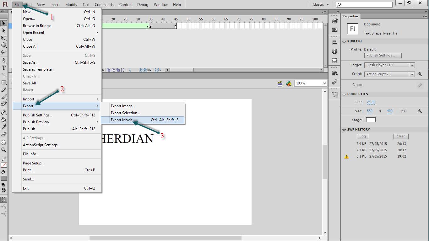 Cara Membuat DP BBM Dari Animasi Flash Berbagi Ilmu Komputer