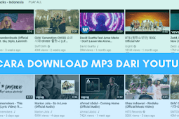 Cara Download Mp3 dari YouTube di Android & PC