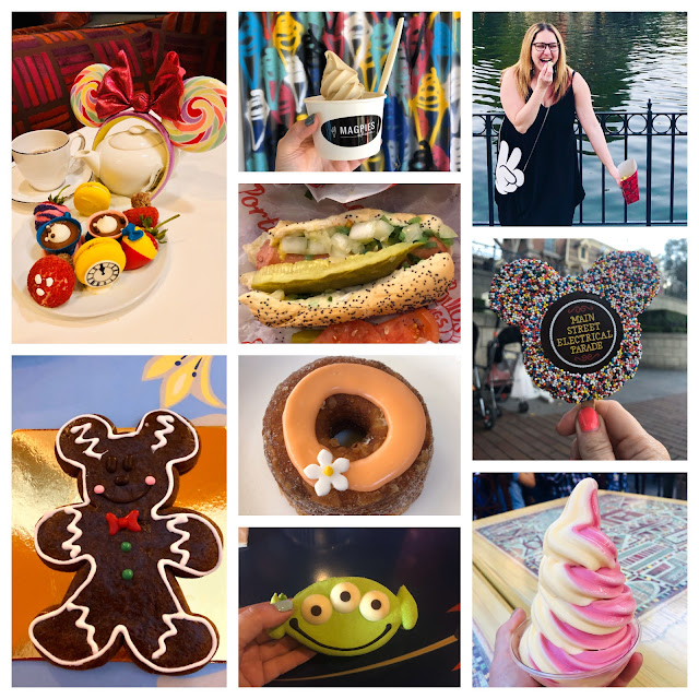 2019, New Year's Eve, New Year's wrapup post, 2019 wrapup, Jamie Allison Sanders, looking back on 2019, food, dessert, treats, Disneyland, Dominique Ansel cronut, macaron, ice cream, Dole Whip, popcorn, rice krispie treat, Portillo's hot dog