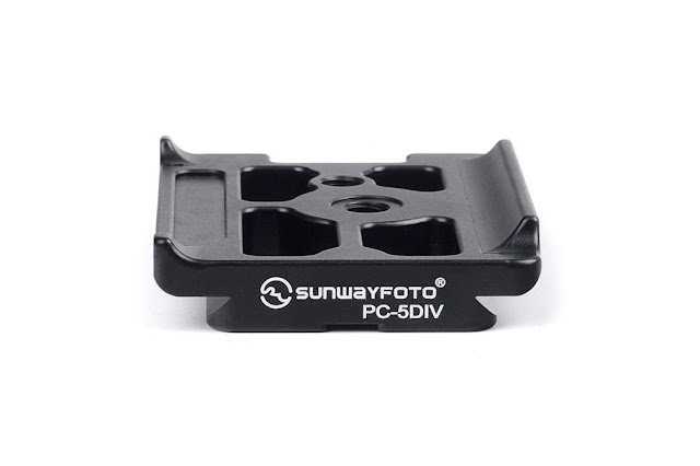 Sunwayfoto PC-5DIV plate side top view