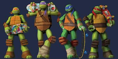 Ninja Turtles Slaapkamer.Nickalive
