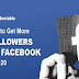 How to Get More Followers on Facebook in 2020 #infographic