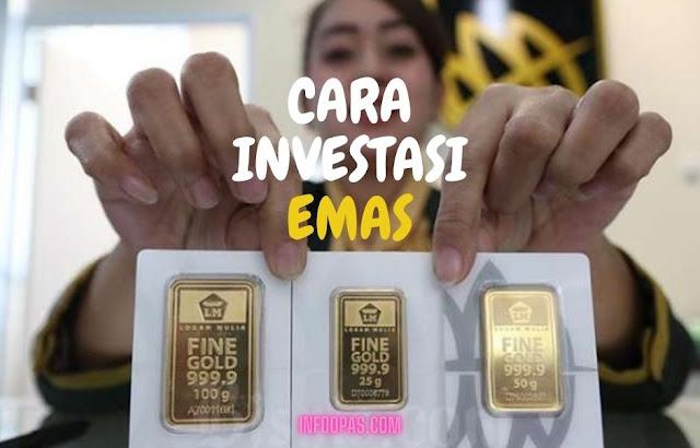 Cara memulai investasi emas untuk pemula