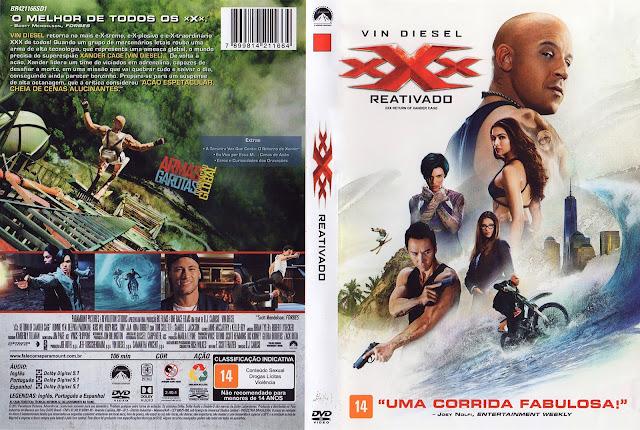 Capa DVD xXx Reativado