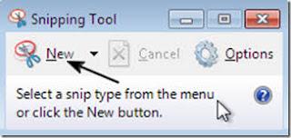أداة SnippingTool اين أجدها في ويندوز 10