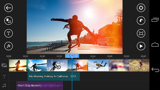 video editing app for Android