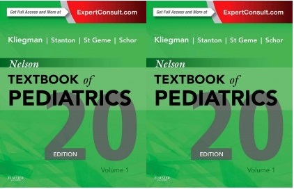 Nelson Textbook Of Pediatrics 20Th Edition Pdf Free Download