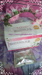 REVIEW KITSUI WHITENIN BB